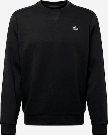 Lacoste Sport Αθλητική μπλούζα φούτερ σε μαύρο