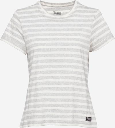 Bergans Funkčné tričko 'Oslo' - svetlosivá / biela: Pohľad spredu