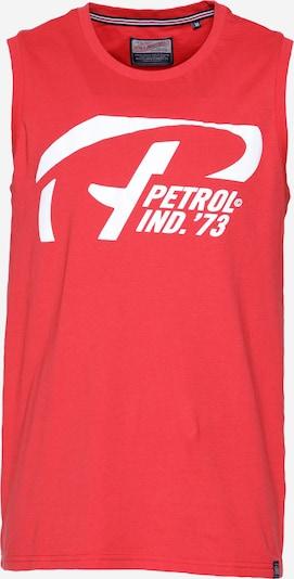 Petrol Industries Shirt in rot / weiß, Produktansicht