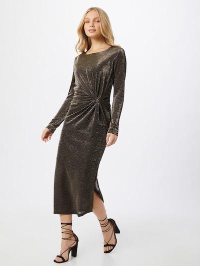 Moves Robe de soirée en or, Vue avec modèle