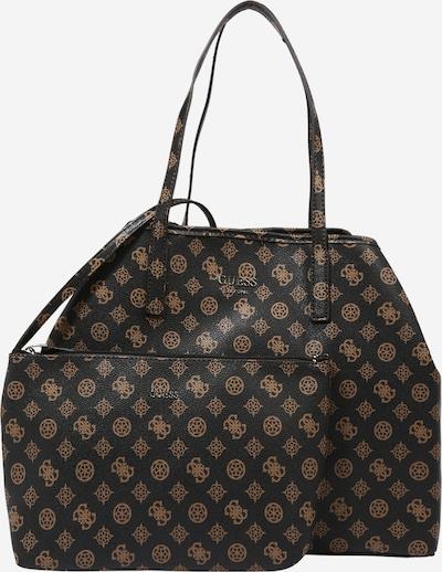 GUESS Shopper 'Vikky' en marrón / marrón oscuro, Vista del producto