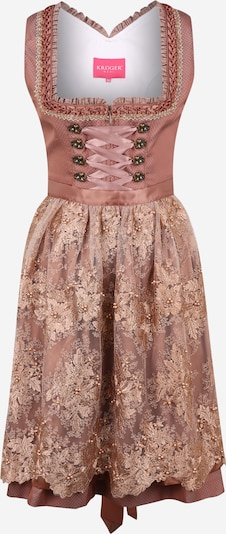 Krüger Madl Dirndl in brown / pink, Item view