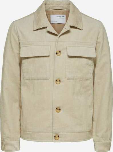 SELECTED HOMME Jacke in creme, Produktansicht