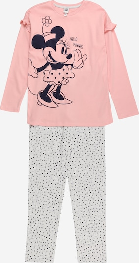 OVS Pyjama in nachtblau / grau / pink, Produktansicht