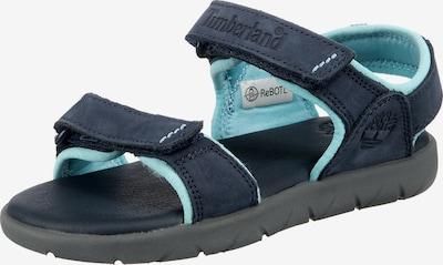 TIMBERLAND Sandale in türkis / dunkelblau, Produktansicht