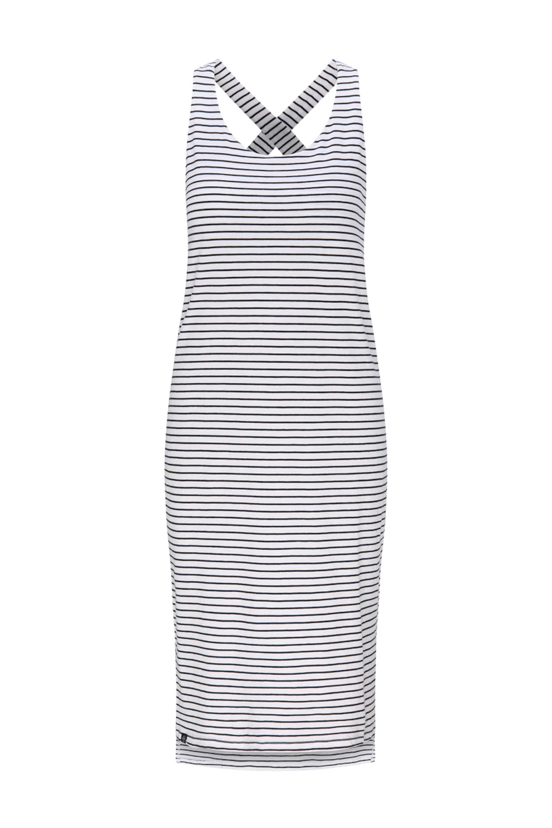 recolution Jerseykleid 'Sleeveless Jerseydress STRIPES' in blau / mischfarben