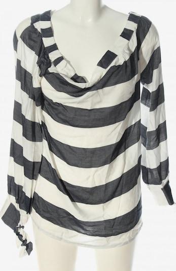 Garcia Jeans Langarm-Bluse in S in schwarz / weiß, Produktansicht