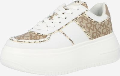 DKNY Zapatillas deportivas bajas 'MAIA' en marrón / blanco, Vista del producto