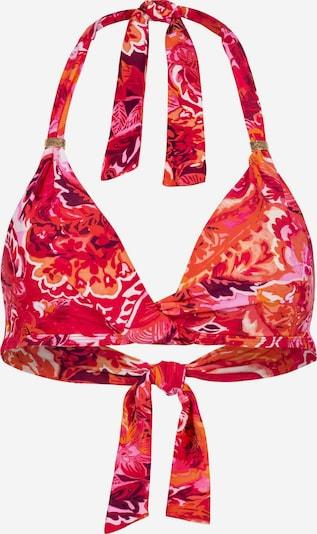 Lauren Ralph Lauren Bikinitop in de kleur Sinaasappel / Rood / Wit, Productweergave