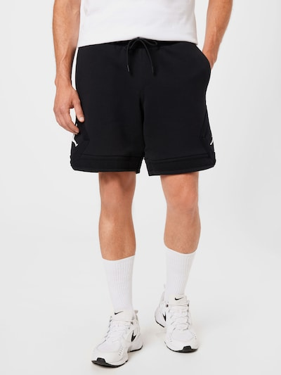 Pantaloni Jordan pe negru / alb, Vizualizare model