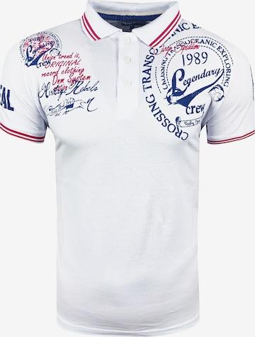Rusty Neal Poloshirt in Weiß
