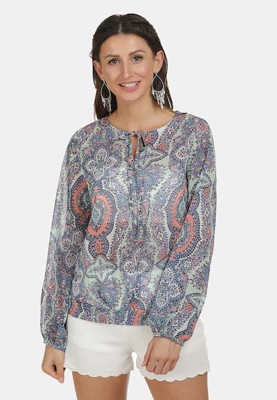 usha FESTIVAL Bluse in hellblau / mischfarben, Modelansicht