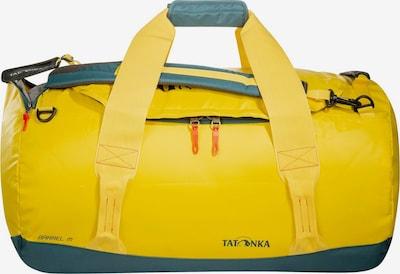 TATONKA Reisetasche  'Barrel' in gelb / petrol / rot, Produktansicht