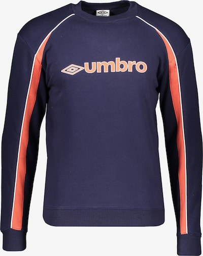 UMBRO Sweatshirt in dunkelblau / rot, Produktansicht