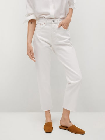 MANGO Jeans 'Havana' in Wit