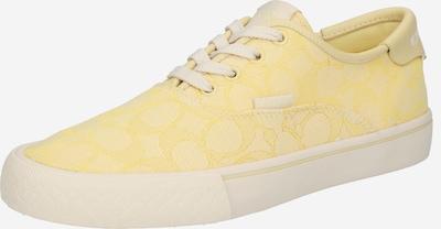 Sneaker low COACH pe galben / alb, Vizualizare produs