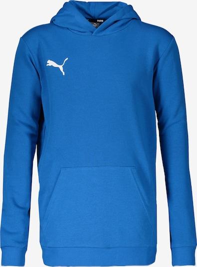 PUMA Athletic Sweatshirt in Aqua / White, Item view