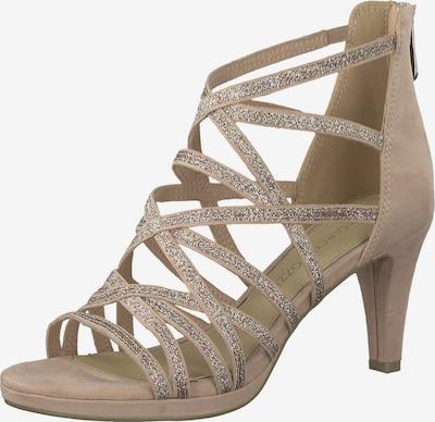 MARCO TOZZI Sandalen met riem in de kleur Beige / Gemengde kleuren, Productweergave