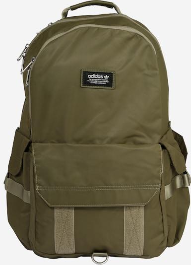 ADIDAS ORIGINALS Rucksack in khaki / schwarz, Produktansicht