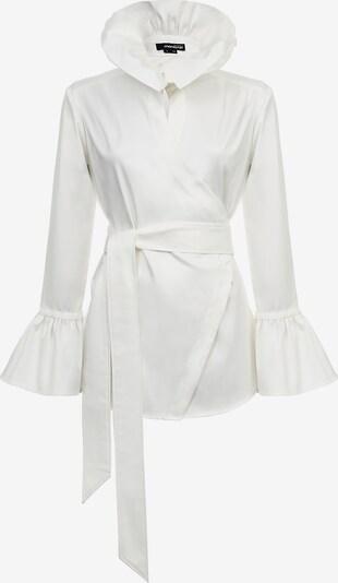 Monosuit Hemdbluse 'ROYAL' in weiß, Produktansicht