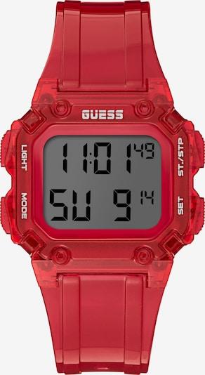 GUESS Uhr in rot, Produktansicht
