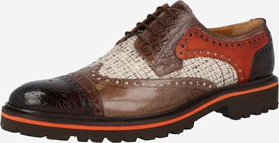 MELVIN & HAMILTON Šnurovacie topánky 'Henry' - hnedá / koňaková / zmiešané farby, Produkt