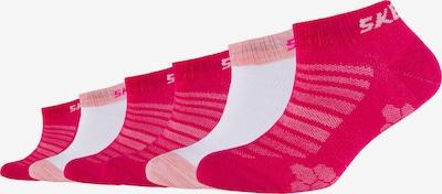 SKECHERS Sneakersocken 'Mesh Ventilation' in pink / rosa / weiß, Produktansicht