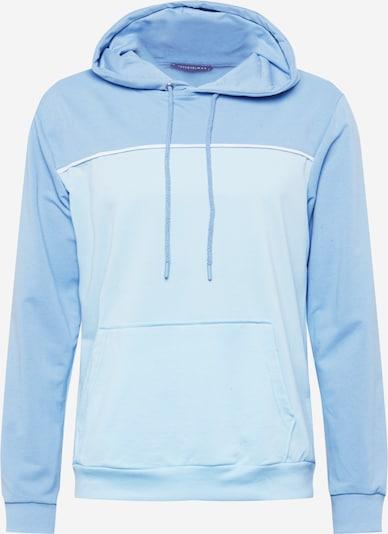 Trendyol Sweatshirt in rauchblau / hellblau / weiß, Produktansicht