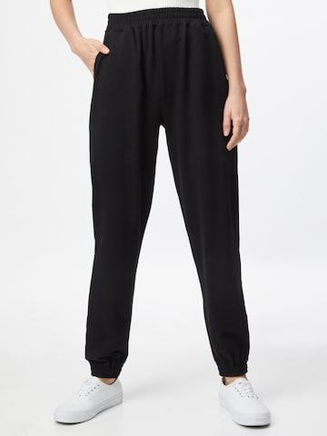 Pantalon 'Naomi' ABOUT YOU en noir