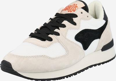 testszínű / fekete / fehér KangaROOS Rövid szárú edzőcipők 'Aussie YING & YANG', Termék nézet