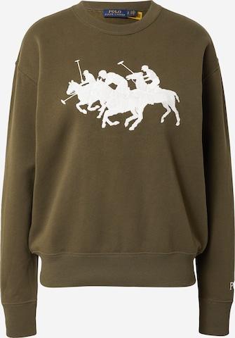 Polo Ralph Lauren Sweatshirt 'HEARD' in Grün