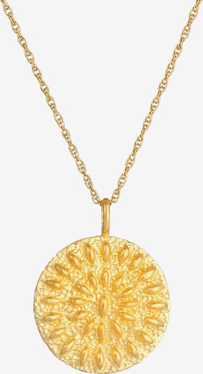 ELLI Halskette Ornament, Vintage in gold, Produktansicht