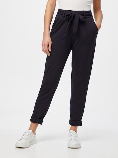 Cartoon Pleat-front trousers in Night blue, View model