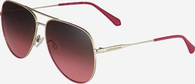 Akiniai nuo saulės '21214S' iš Calvin Klein Jeans, spalva – Auksas / vyno raudona spalva, Prekių apžvalga
