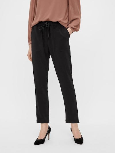 OBJECT Pantalon 'Aria' en noir, Vue avec modèle