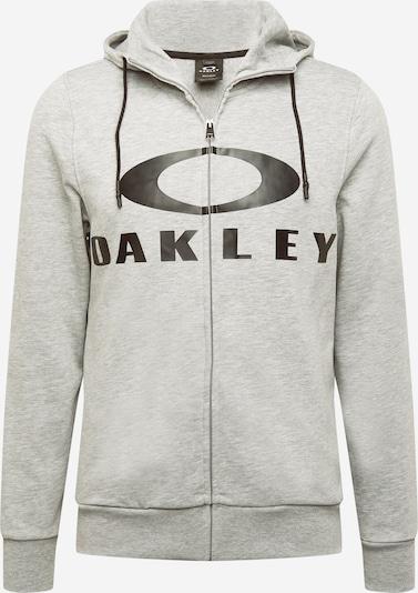 OAKLEY Sportovní mikina s kapucí 'BARK' - světle šedá / černá, Produkt