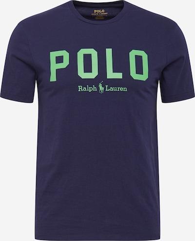 POLO RALPH LAUREN T-Shirt en bleu marine / vert pastel, Vue avec produit