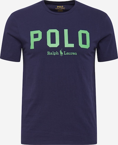 POLO RALPH LAUREN Shirt in navy / pastel green, Item view