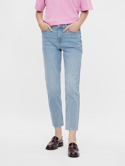 PIECES Jeans 'LUNA' in blue denim, Modelansicht