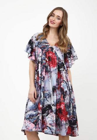 Madam-T Dress 'Kuria' in Mixed colors