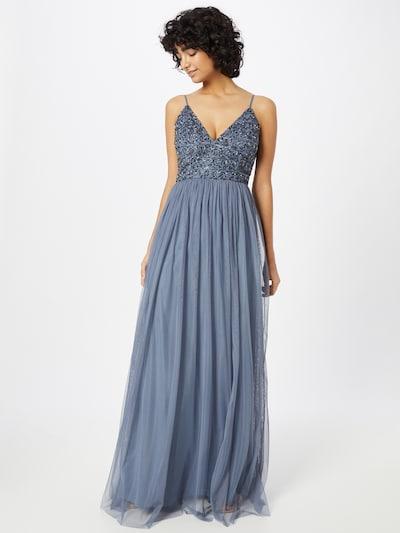 LACE & BEADS Kleid 'Emily' in dunkelblau, Modelansicht