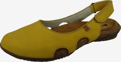 EL NATURALISTA Ballerina in gelb, Produktansicht