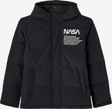 Veste d'hiver 'NASA' LMTD en noir