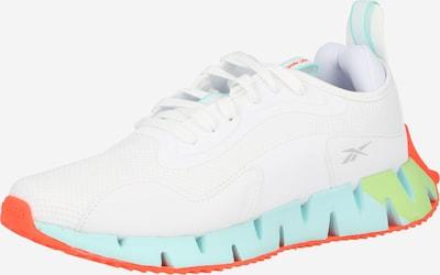REEBOK Sportovní boty 'ZIG DYNAMICA' - šedá / nefritová / světle zelená / oranžově červená / bílá, Produkt