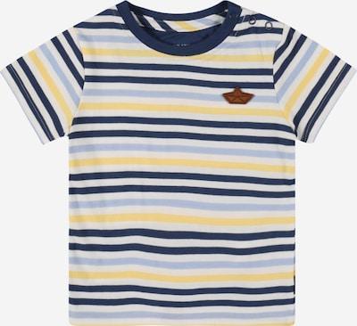 STACCATO Majica u mornarsko plava / sivkasto plava / limeta zelena / bijela, Pregled proizvoda