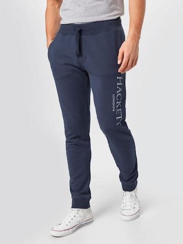 Hackett London Spodnie w kolorze niebieski