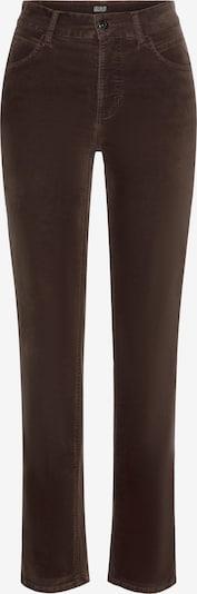 MAC Jeans »Melanie Velvet« in dunkelbraun, Produktansicht