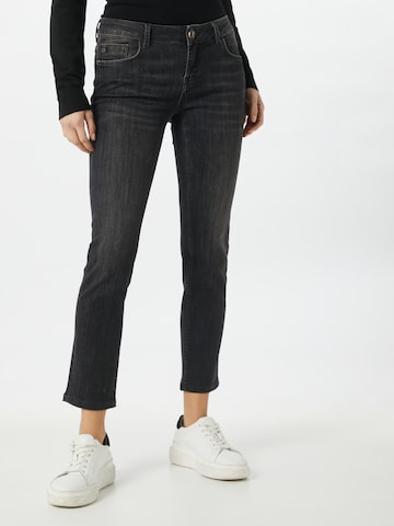 Goldgarn Jeans 'Rosengarten' in Schwarz