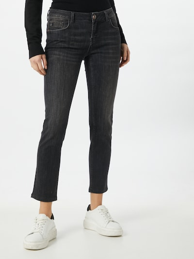 Goldgarn Jeans 'Rosengarten' in black denim, Modelansicht