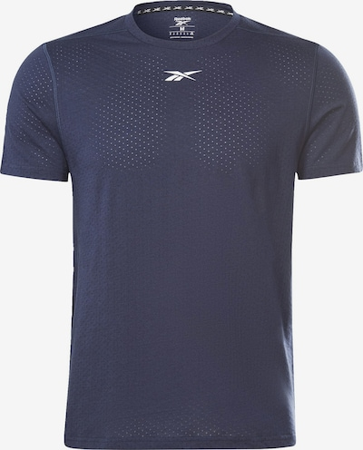 REEBOK Functioneel shirt in de kleur Violetblauw / Wit, Productweergave